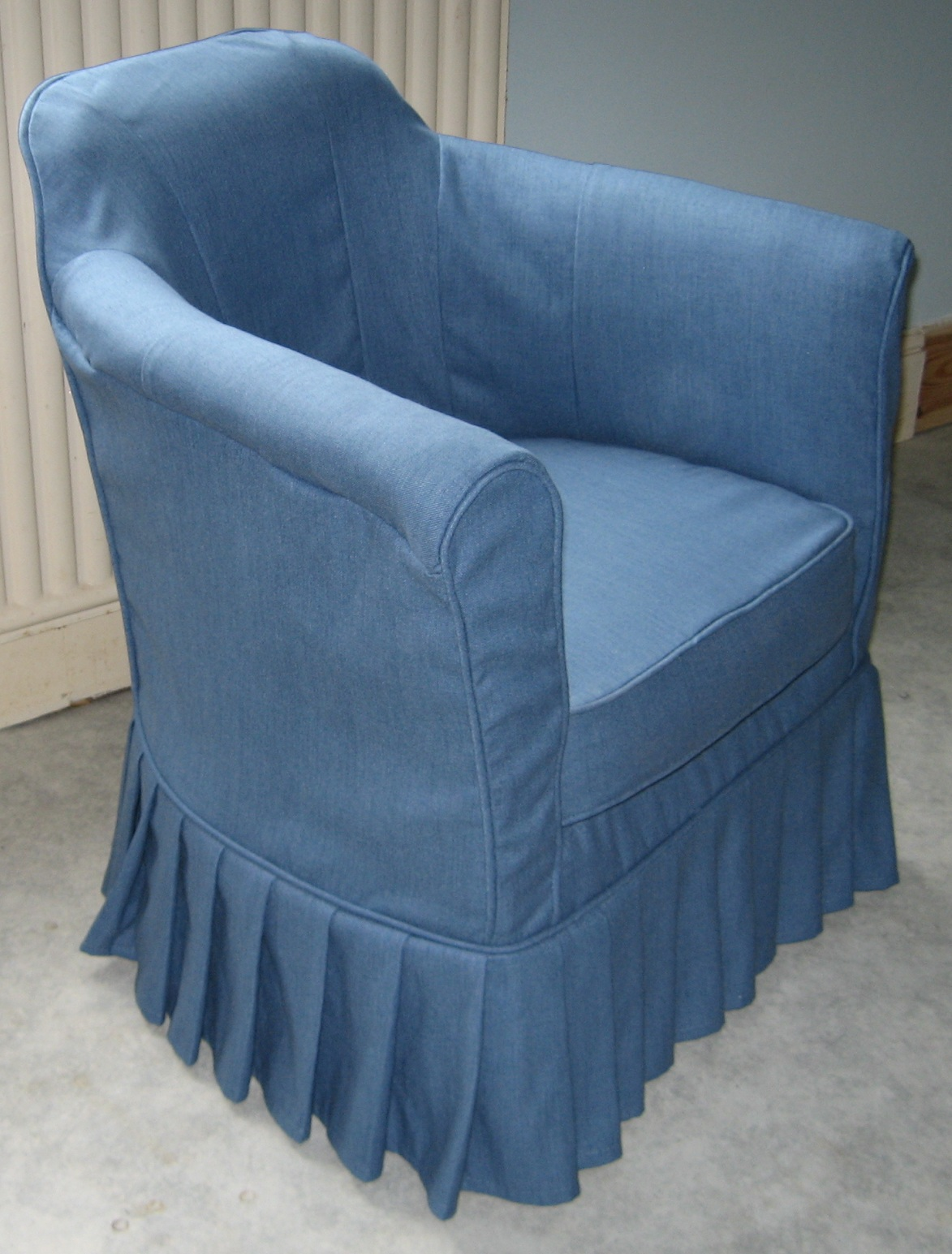 Tub Chair Slipcovers On Now Elegant Changes